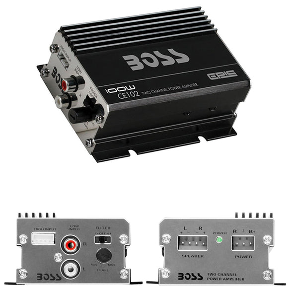 Boss CE102 100W Two Channel Amplifier