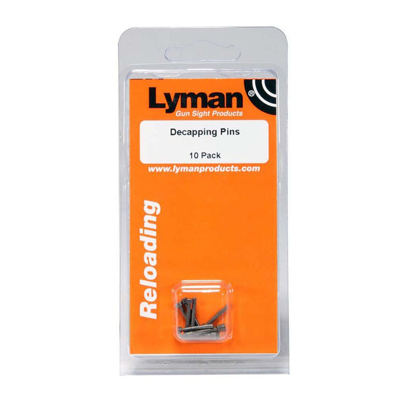 Lyman 7837786 Decapping Pins 10 Pack