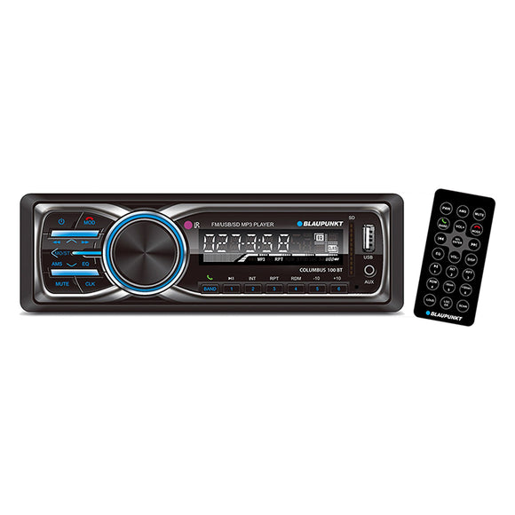 Blaupunkt COLUMBUS100BT mechless digital media receiver with Bluetooth