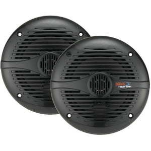 "BOSS AUDIO MR50B Marine 5.25"" 2-way 150-watt Full Range Speakers"