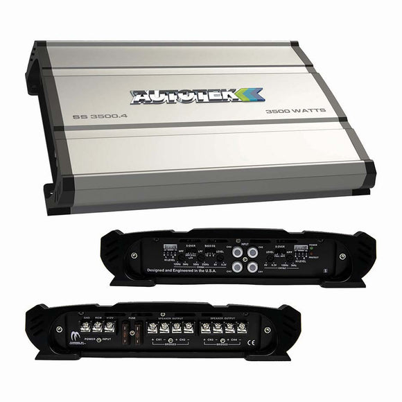 Autotek SS35004 Super Sport Amplifier 3500 Watt 4 Channel