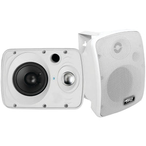 "Pyle PDWR64BTW 6.5"" Indoor/Outdoor 800-Watt Bluetooth Speaker System (White)"