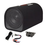 "Audiopipe APDX8A 8"" Single ported bass tube enclosure 400W"