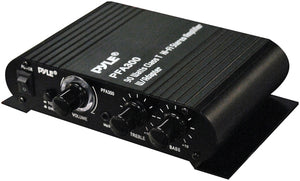 Pyle PFA300 Amplifier for Car or Home 90W Max