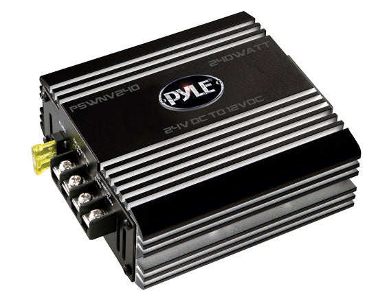 Pyle PSWNV240 24V DC to 12V DC 240W Power Converter