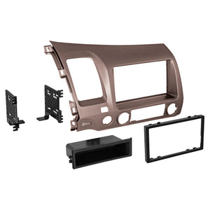 American International HONK838L Install Kit for 06-11 Honda Civic GunMetal Taupe