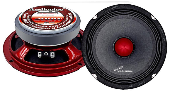 Audiopipe APMB628PR Low Mid Frequency Loudspeaker 6