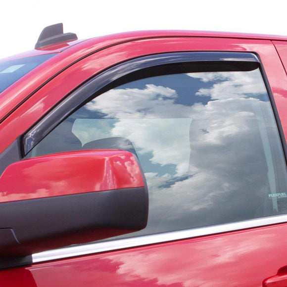 Auto Vent Shade inChannel Ventvisor Side Window Deflector 2Pc Set