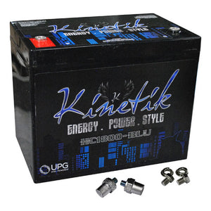 Kinetik HC1800BLU 1800 Watt 75 Amp Hour Car Audio Battery