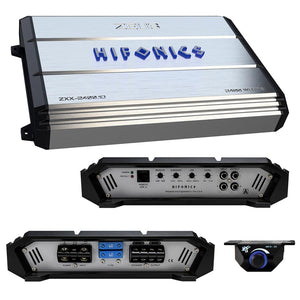 Hifonics ZXX-2400.1D 2400W Peak Zeus Series Class-D Monoblock 1-Ohm Stable Amplifier