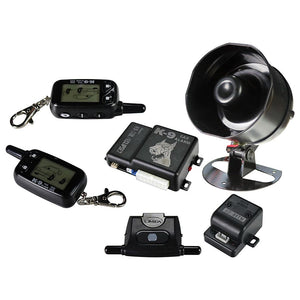 K9ECLIPSE2 Car Alarm K9 With (2)2-Way Lcd Remotes (Replacement Remote-65101)