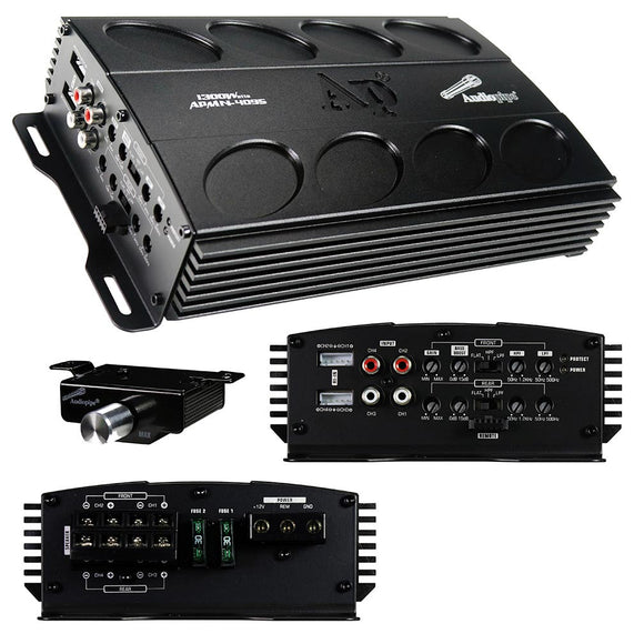 Audiopipe APMN4095 1300W Mini Amplifier