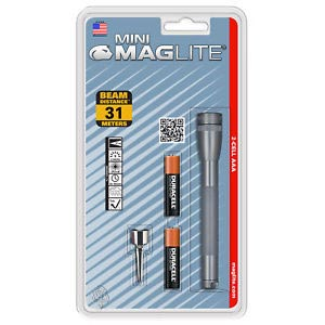 MAGLITE M2A096 MINI  AA GRAY