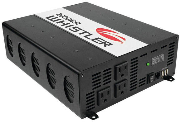 Whistler XP2000I 2000 watt Power Inverter