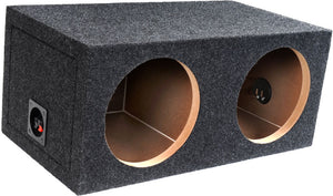 BBox E12D 12-Inch Dual Sealed Subwoofer Enclosure