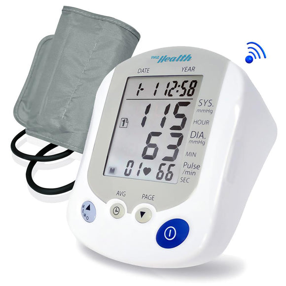Pyle PHBPB20 Bluetooth Blood Pressure Monitor with Downloadable Health Tracking App