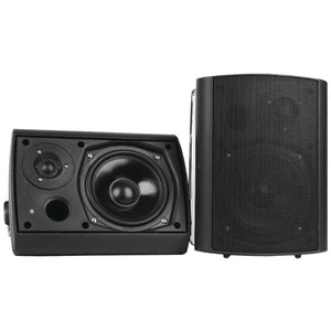 "Pyle PDWR62BTBK 6.5"" Indoor/Outdoor Wall-Mount Bluetooth Speaker System (Black)"
