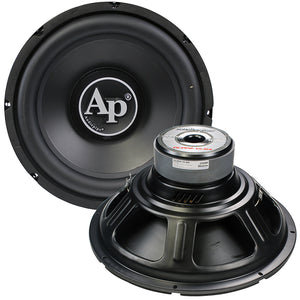 "Audiopipe TSPP215D4 15"" Woofer Dual 4 Ohm 1500W Max"