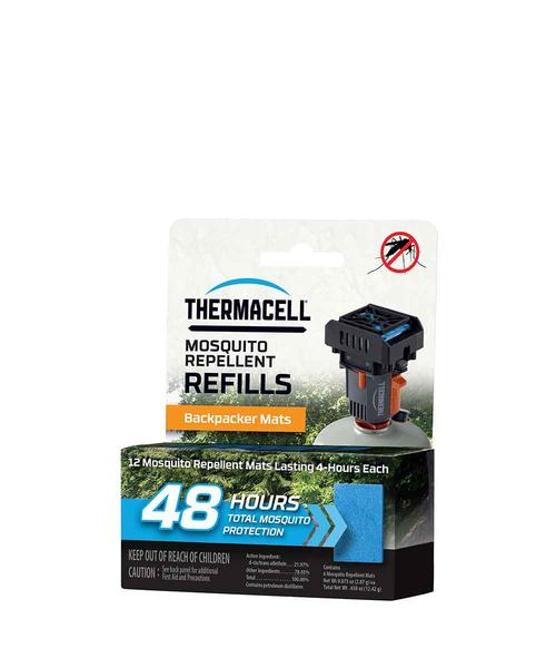 Thermacell M48 Backpacker Mat Only Refill 48 Hours