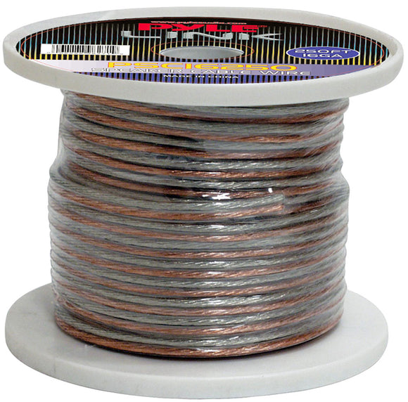 Pyle PSC16250 16 Gauge 250 ft. Spool of High Quality Speaker Wire