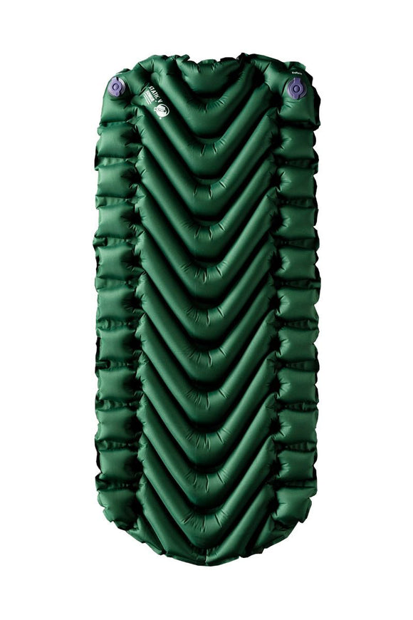 Klymit 06SJGR01A Static V Short Sleeping Pad - Forest Green