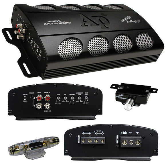 Audiopipe APCLE10001D Class D 1000 watt Mono Amplifier