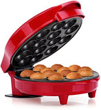 Holstein Housewares HF09014R Cake Pop Maker - Red Stainless Steel