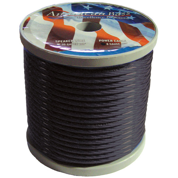 American Bass 4GB 4 GA Smoke color 100 FT Roll