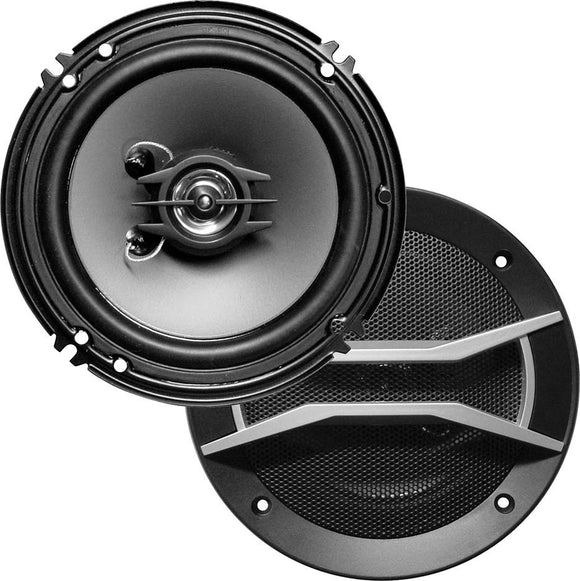 Pair Xxx Xgt1602 6/6.5 2 Way 300w Car Audio Speakers 300 Watt 6/6 1/2