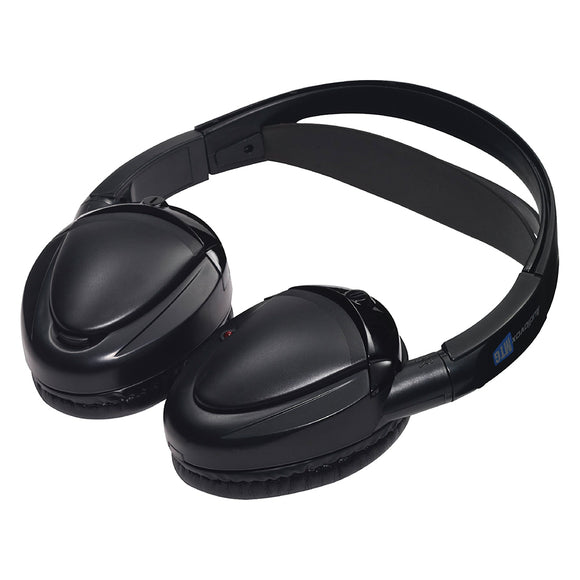 Audiovox MTGHP2CA Dual channel wireless fold flat headphones auto shut off