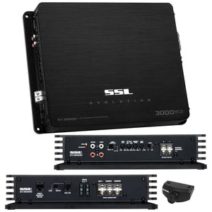 SSL EV3000D EVOLUTION 3000W Class D Monoblock Amplifier with Remote Subwoofer Level Control (Discontinued by Manufacturer)