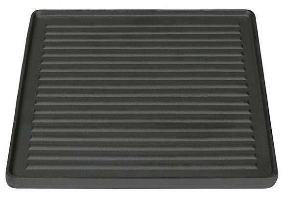 Stansport 16010100 Pre-Seasoned Two Sided Cast Iron Griddle - 15