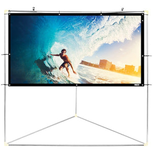 "Pyle PRJTPOTS71 Portable Outdoor Projection Screen (72"")"