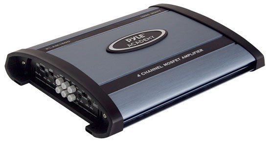 Pyle PLAM1600 1600 Watts 4 Channel Bridgeable Amplifier