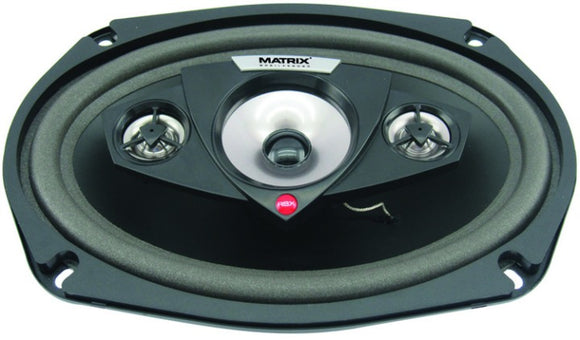Matrix Audio Matrix 6 X 9 Inch 4-Way Speakers (Pair)