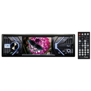 "Precision Power PV343B 3.4"" Single Din Dvd Receiver With Bluetooth"