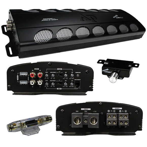 Audiopipe APCLE6004 2500 watt 4 channel Amplifier
