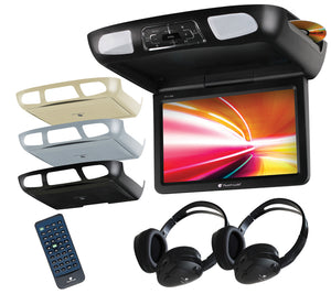 "Planet Audio P112ES 11.2"" Overhead Monitor w/ DVD Player"