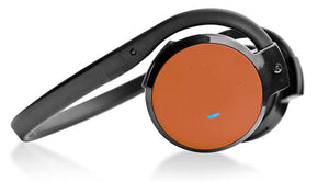 Pyle PHBT5O Orange Bluetooth 2-in-1 Stereo Headphones w/ Built-in Microphone