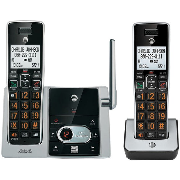 AT&T CL82213 Cordless Answering System with Caller ID/Call Waiting (2-handset system)