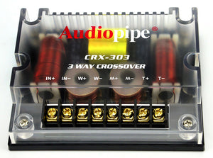 Audiopipe 3 Way Crossover CRX-303 400 Watts Passive Crossover Car Audio 4 Ohm