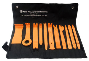 Astro 4524 Auto Fastener and Molding Removal Tool Set 11 Piece