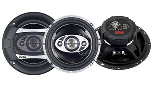"BOSS AUDIO P65.4C 6.5"" 4-Way 400W Car Coaxial Speakers Stereo Pair"