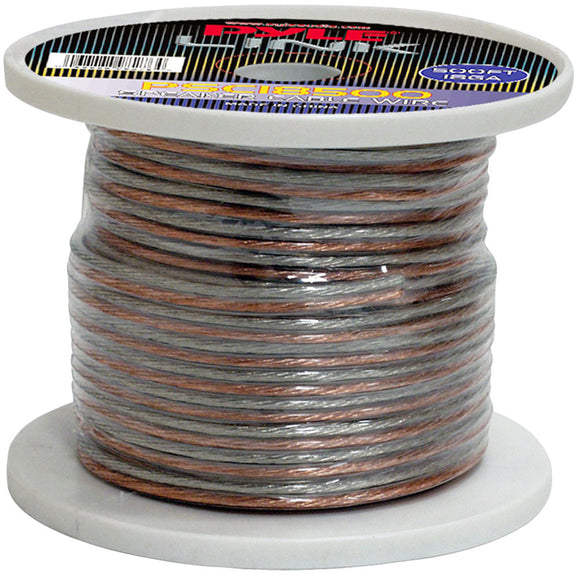 Pyle PSC18500 18 Gauge 500 ft. Spool of High Quality Speaker Wire