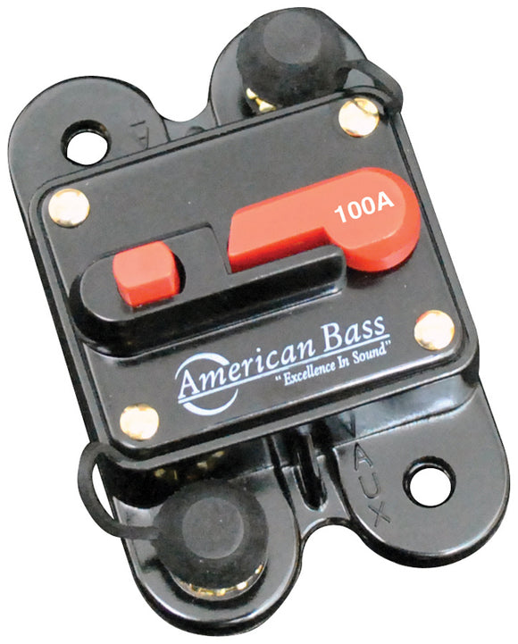 American Bass 100A Circuit Breaker Blister Pack