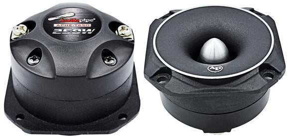 Audiopipe APHET650 Super High Frequency Titanium Tweeter 250W Max Pair