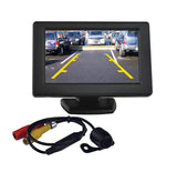 "Tview RV43C 4.3"" TFT monitor with backup camera"