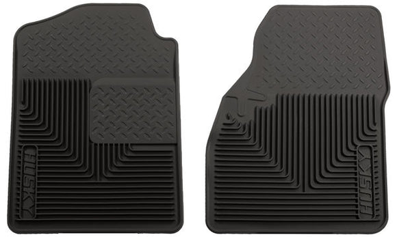 Husky 51031 Front Floor Mats Fits 02-06 Avalanche 150002-06 Avalanche 2500 Black