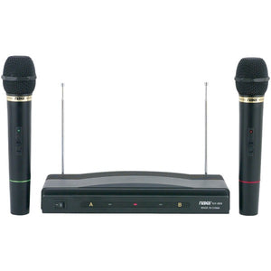 Naxa NAM984 2 Wireless Microphone Setup