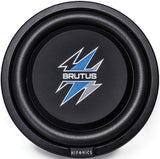 "Hifonics BXS12D4 12"" Brutus Series Shallow Subwoofer 500W Max 4 Ohm DVC"